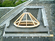 wood frame structure