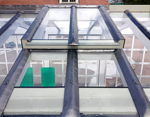 roof lead frame flat